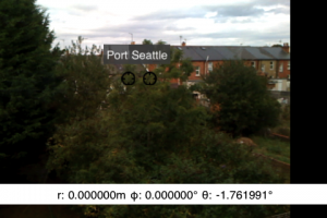 ARGeoViewController as the overlay on a ImagePickerController on iPhone